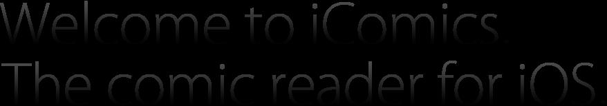 iComics - The comic reader for iOS